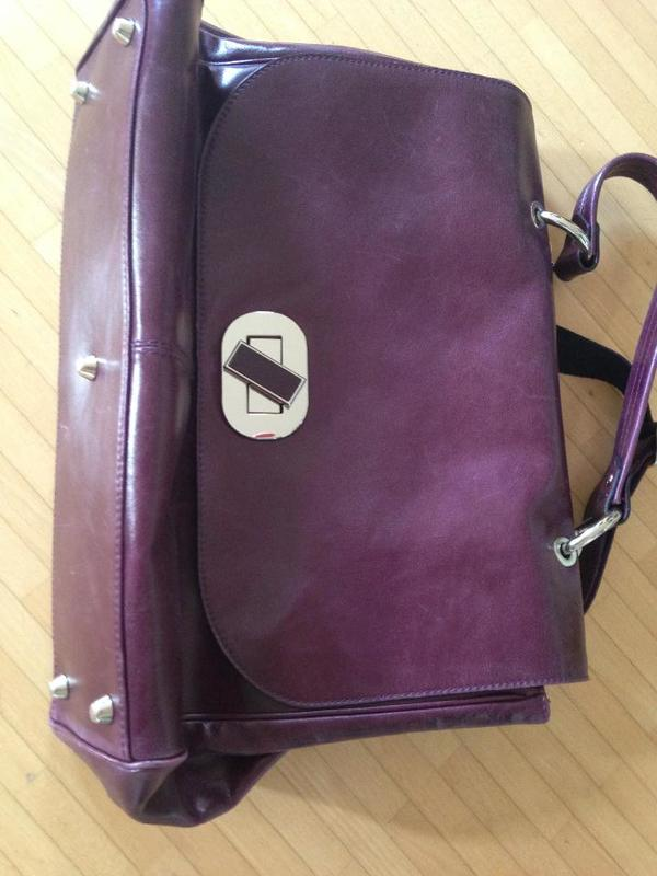 Picard - Business-Tasche Anchorage brombeer