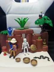 Playmobil 3017 Schatzhöhle mit Forscher
