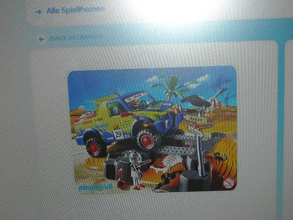 Playmobil 4421 Rallye Pick up