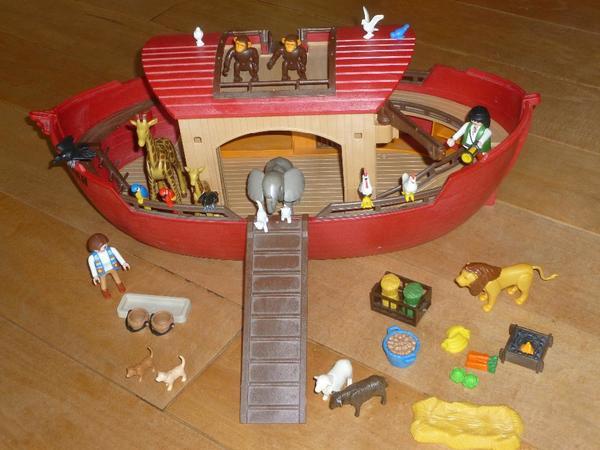 playmobil arche noah 3255 in zuzenhausen spielzeug lego playmobil kaufen und verkaufen ber. Black Bedroom Furniture Sets. Home Design Ideas