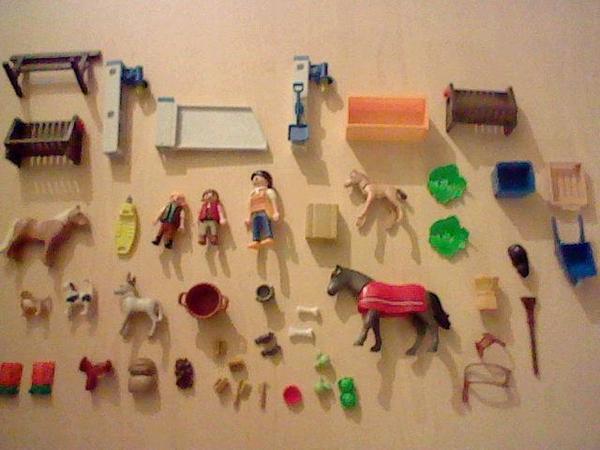 Playmobil pferde zubeh r 48 teilig in hattersheim spielzeug lego playmobil kaufen und - Pferde playmobil ...