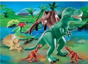 Playmobil T-Rex mit Velociraptoren 4171
