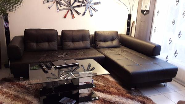 polstergarnitur sofa braun/espresso mit kissen in büttelborn, Hause deko