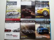 Porsche times 6 Stück Fachzeitschrift