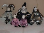 Porzellan-Puppen-Harlekin