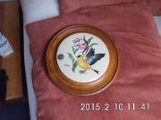 Porzellanbild auf Holz