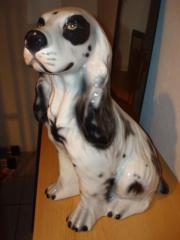 Porzellanhund ca. 44cm
