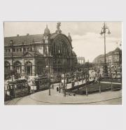 Postkarte Hauptbahnhof Frankfurt am Main