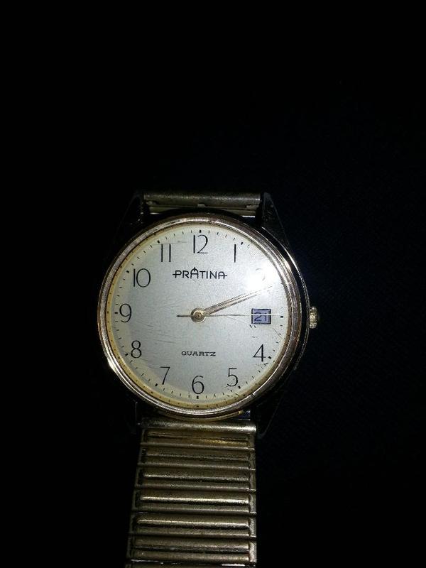 Prätina-Herren-Armbanduhr gebraucht