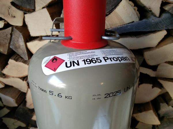 Propan Gasflasche 5 Kg Mit Fullung In Heidelberg Campingartikel
