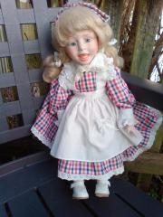 Puppen aus Porzellan