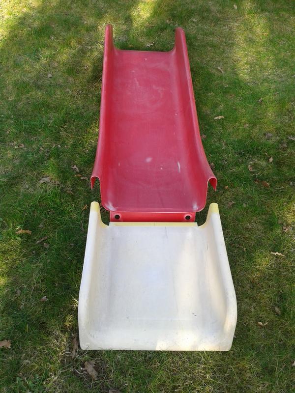 Quadro Rutsche zu verschenken - St Leon-rot - Quadro Rutsche mit starken Gebrauchsspuren (siehe Bilder) zu verschenken. Ohne Befestigungsmaterial - St Leon-rot