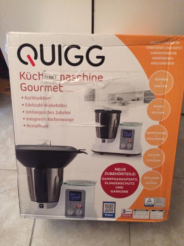 quigg küchenmaschine gourmet kaufen