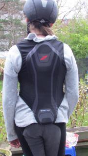Reiten Reithelm Rückenprotector