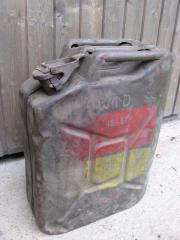 Reservelkanister, Metall,antik,