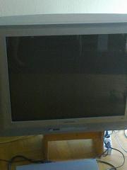 Röhren Fernseher abzugeben (
