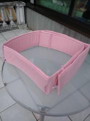 rosa Baby Nestchen