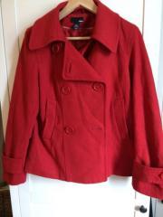 Rote Jacke von