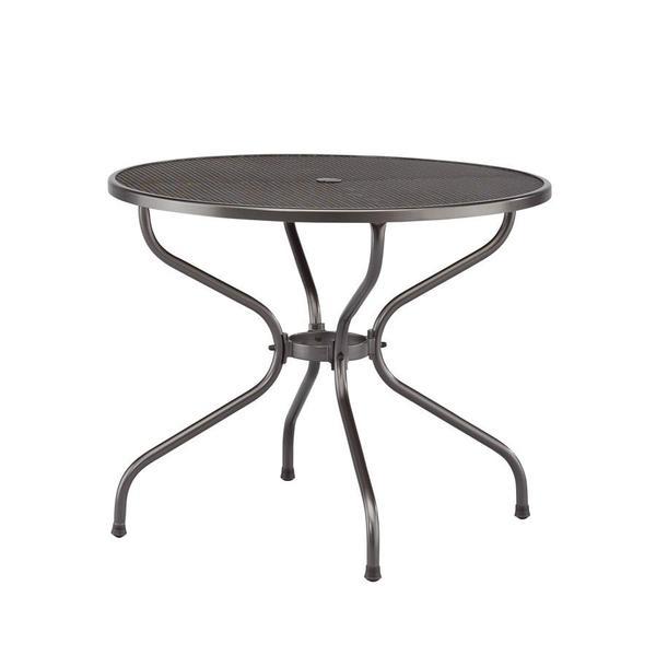 Runder GARTEN-Tisch neuwertig