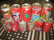 Sammlerdosen von Coca