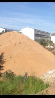 Sand Erdaushub Aushub