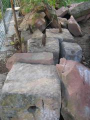 Sandsteine, Sandsteingewände, Sandsteinquader