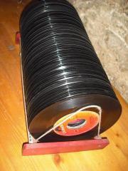 Schallplattenständer Vinyl Singles Oldies