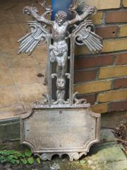 Schmiedekunst - Eisernes Grabkreuz