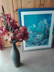 schöne Terrakotta Vase.