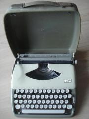 Schreibmaschine Adler Tippa