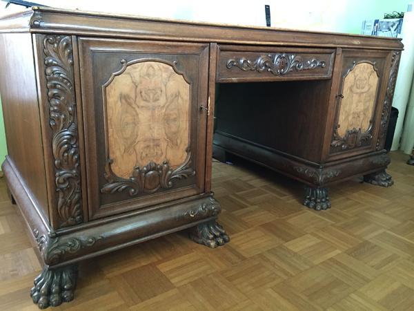 Gründerzeit Schreibtisch Stuhl ~ Schreibtisch Eiche kaufen  Schreibtisch Eiche gebraucht  dhd24com