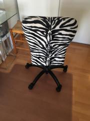 Schreibtischstuhl schwarz weiß  Schreibtischstuhl schwarz/ weiß zu verschenken in München ...