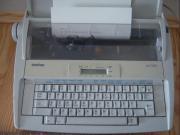 Schribmaschine mit LC-Display