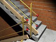 Schutzgeländezwinger Absturzsicherung für Baustelle