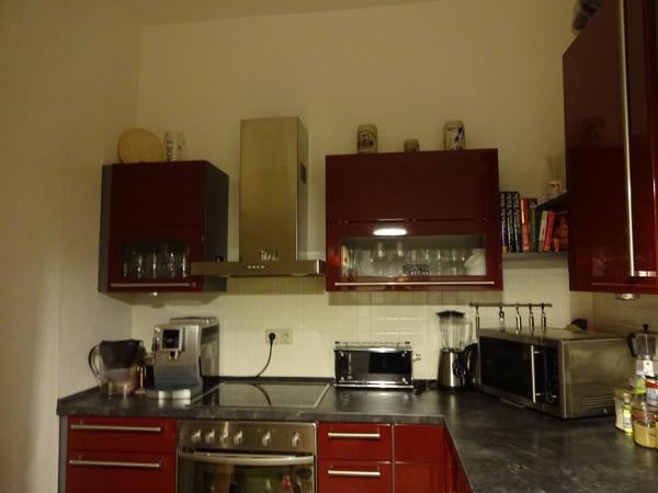 rote kuche gebraucht kaufen nur noch 2 st bis 60 g nstiger. Black Bedroom Furniture Sets. Home Design Ideas