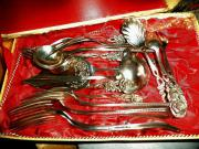 Silber Bestecke, ,Antik