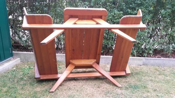sitzgruppe sitzgarnitur sitzbank mit tisch in m nchen gartenm bel kaufen und verkaufen ber. Black Bedroom Furniture Sets. Home Design Ideas
