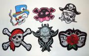 Skull 6 Teile -