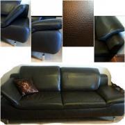 Sofa - Couch - Ledersofa -