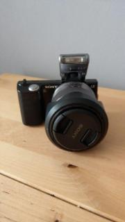 Sony digitale Spiegelreflexkamera