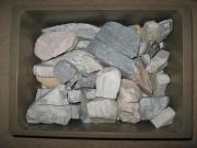 Specksteine verschiedene Größen und Farben
