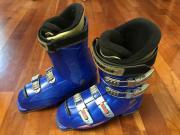 sportliche Lange-Skischuhe blau Größe 37