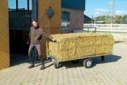 Stall Ballenwagen Hilfe für unterschiedliche