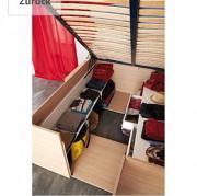 Stauraum Bett 140x200 Free X Massivholz X Selber Bauen Bettwasche