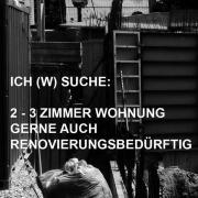 SUCHE 3 ZIMMER
