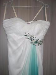 Super Abendkleid weiß