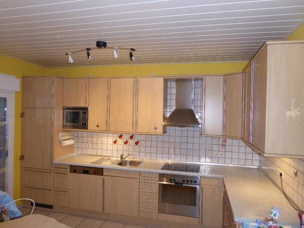 Super Günstig ! Küche, L - Form, Sehr Viel Platz / Stauraum In