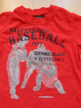 Kinderbekleidung - T-Shirt mit Aufdruck Gr- 98