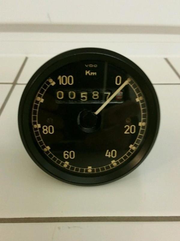 tachometer vdo tropen ks750 z ndapp r75 bmw wehrmachtsgespann in bensheim oldtimer klassiker. Black Bedroom Furniture Sets. Home Design Ideas