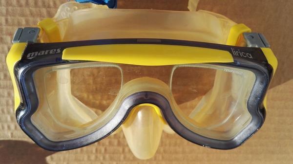 Taucherbrille MARES Lirica mit optischen